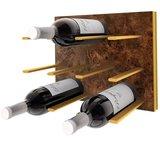 STACT Burl & Gold wijnrek - 9 flessen