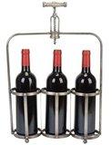 afbeelding van la chaise longue corkscrew wijnrek gevuld