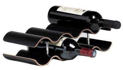Cosy Panama black wijnrek - 7 flessen