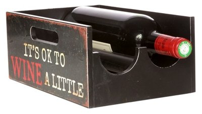 Cosy Brisbane wijnrek - 2 flessen