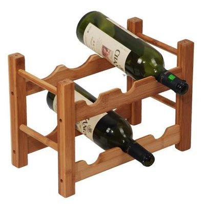 MK Bamboo Roma wijnrek - 6 flessen