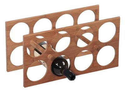 MK Bamboo Milano wijnrek - 8 flessen