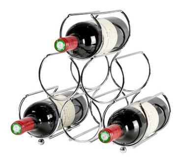 Cosy Metallo Wire wijnrek - 6 flessen
