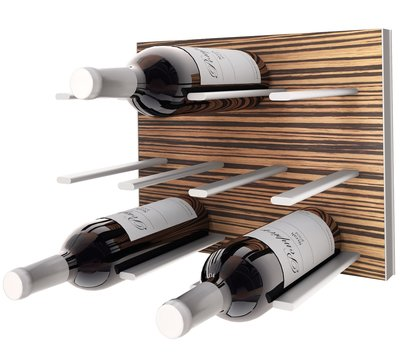 STACT Zebrano wijnrek - 9 flessen