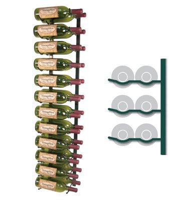 SCHADEMODEL | VintageView WS42-P platinum wijnrek - 24 flessen