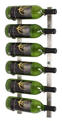 VintageView WS21-P platinum wijnrek - 6 flessen