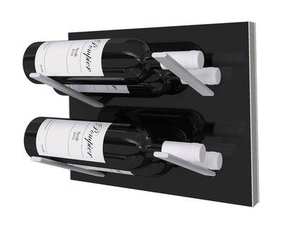 STACT Black wijnrek - 4 flessen