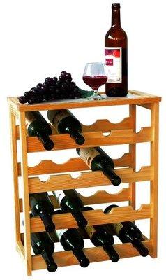 MK Bamboo Geneve wijnrek - 16 flessen