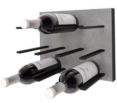 STACT Concrete & Black wijnrek - 9 flessen