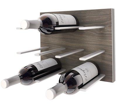 Retourkansje | STACT Gray Oak wijnrek - 9 flessen