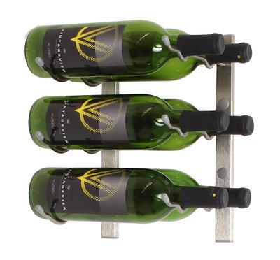 VintageView WS12-P platinum wijnrek - 6 flessen
