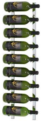 VintageView WS31-P platinum wijnrek - 9 flessen