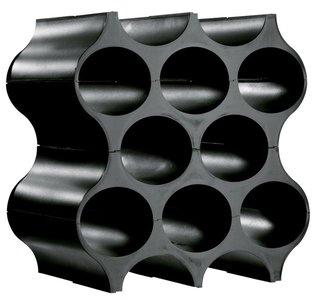 Afbeelding van de Koziol Set-Up zwart wijnrek