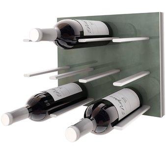 STACT Gunmetal Grey wijnrek - 9 flessen