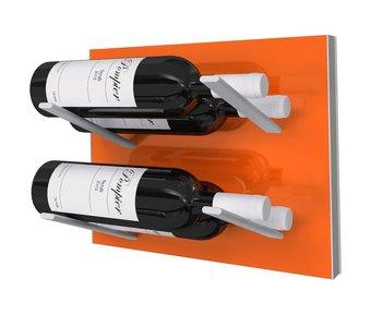 STACT Orange wijnrek - 4 flessen