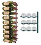 Afbeelding van een leeg VintageView WS33-K wijnrek - 27 flessen