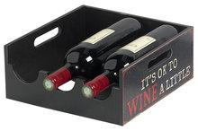 Afbeelding van Cosy Brisbane wijnrek 3 flessen