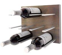 STACT Walnut wijnrek - 9 flessen